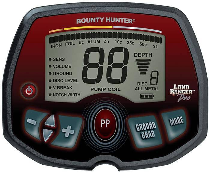 Bounty Hunter Land Ranger Pro Elektronikbox
