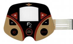 Fisher Bedienpanel (Touch-Pad) für F2