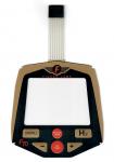 Fisher Bedienpanel (Touch-Pad) für F70