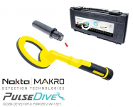 Nokta Macro PulseDive Gelb Unterwasser Detektor + Pinpointer