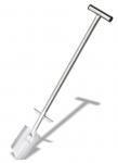 AAA Premium Spaten Edelstahl 90cm