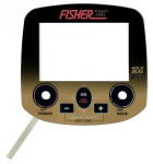 Fisher Bedienpanel (Touch-Pad) für Gold Bug Pro