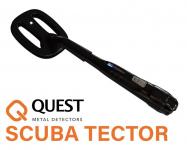 Quest Scuba Tector Schwarz Unterwasser Metallldetektor