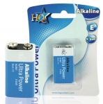 9 Volt-Blockbatterie HQ Alkaline Ultra Power