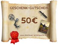 50 Euro Geschenk-Gutschein