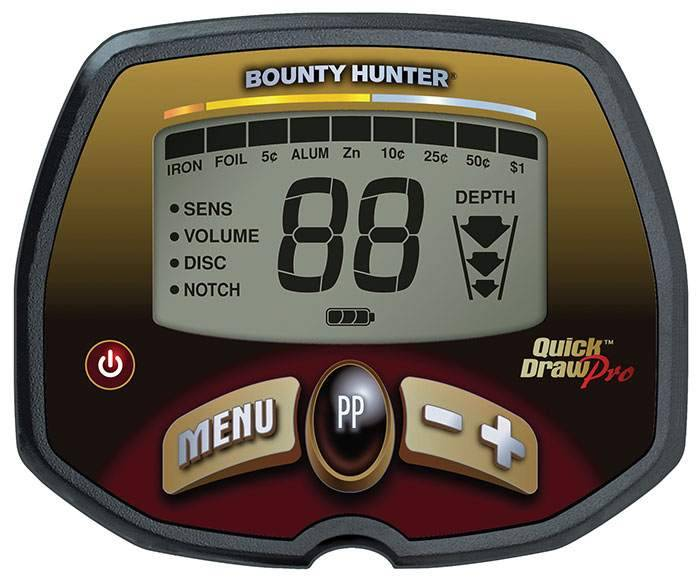 Bounty Hunter Quick Draw Pro Elektronikbox