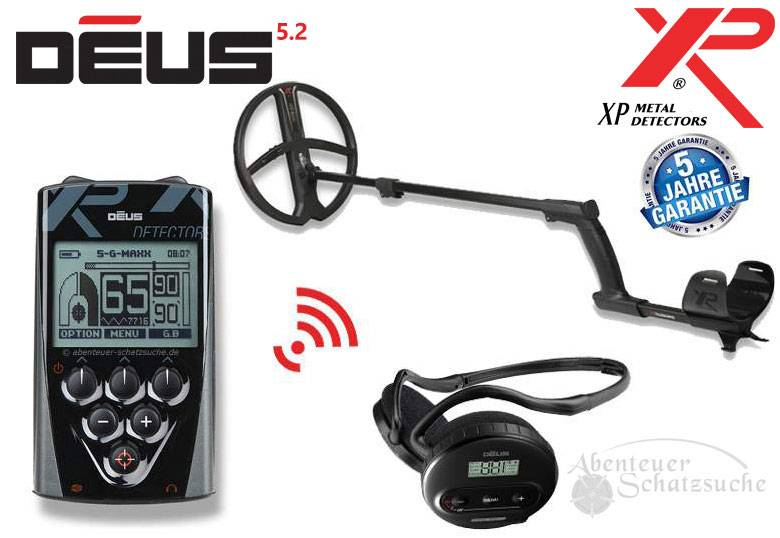 XP DEUS X35 28 RC WS4 Komplett-Set