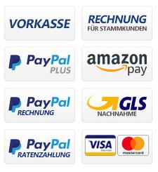 Sichhere Zahlungsarten